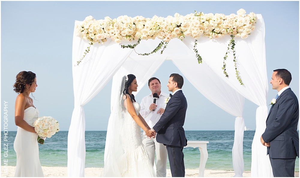 wedding at the finest playa mujeres 17
