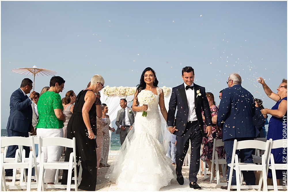 wedding at the finest playa mujeres 20