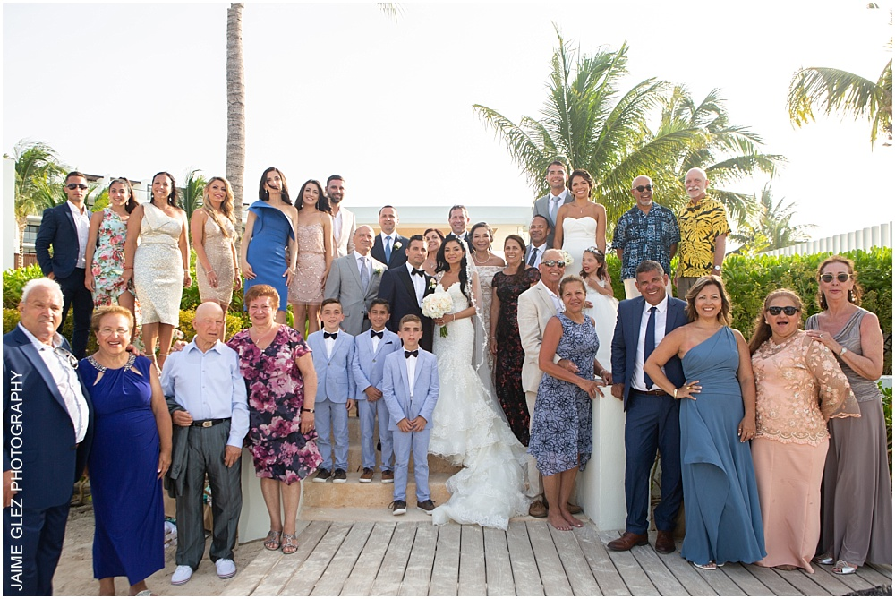 wedding at the finest playa mujeres 23