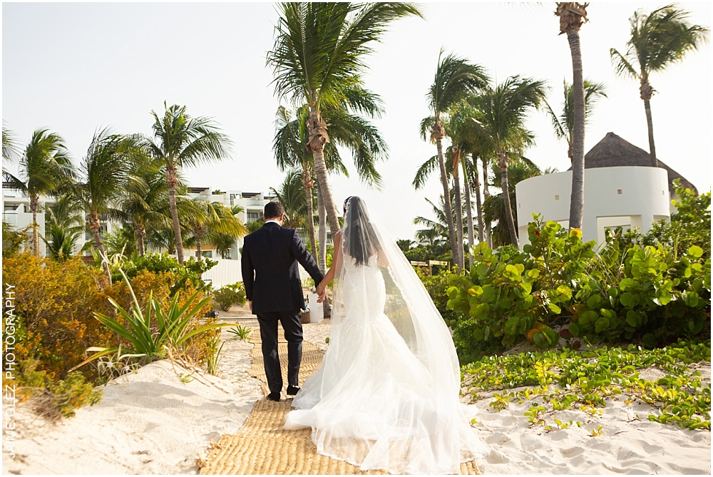 wedding at the finest playa mujeres 21