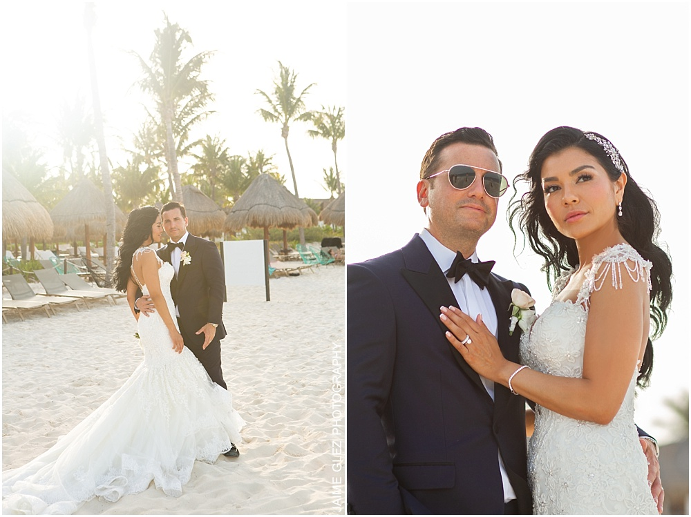 wedding at the finest playa mujeres 32