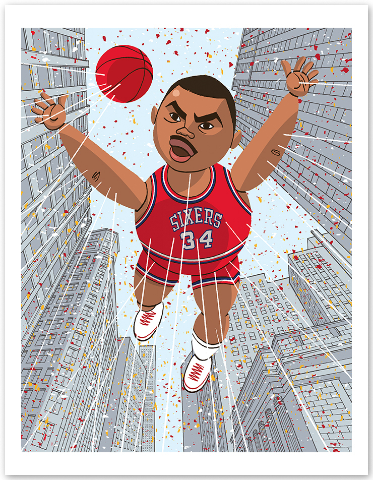 """Charles Barkley """"Loud, Fat & Gifted"""""""