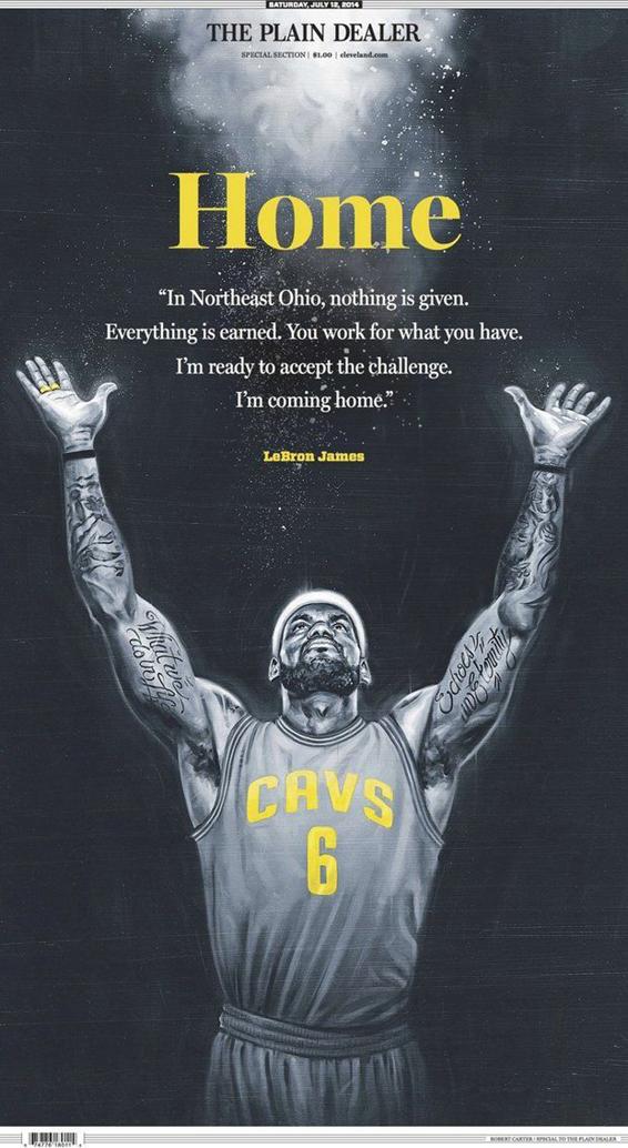 Cover of Cleveland Plain Dealer on 11/12/14
