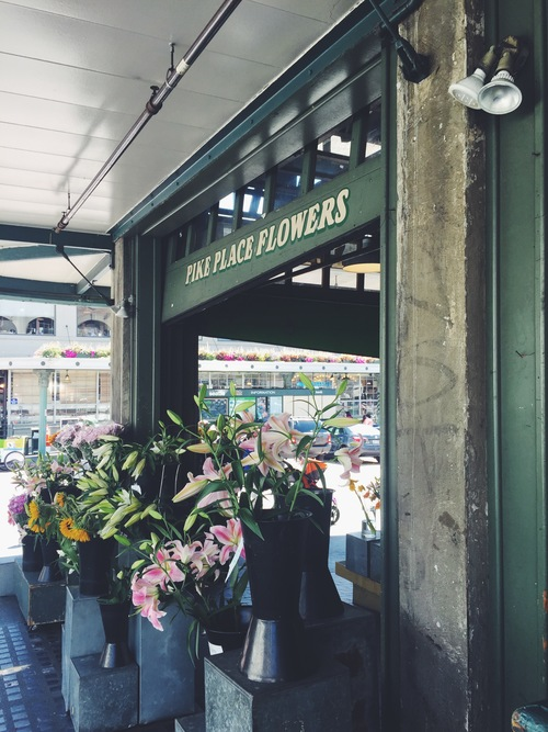 Can't wait to see you again Seattle. #flowershop #takeusback