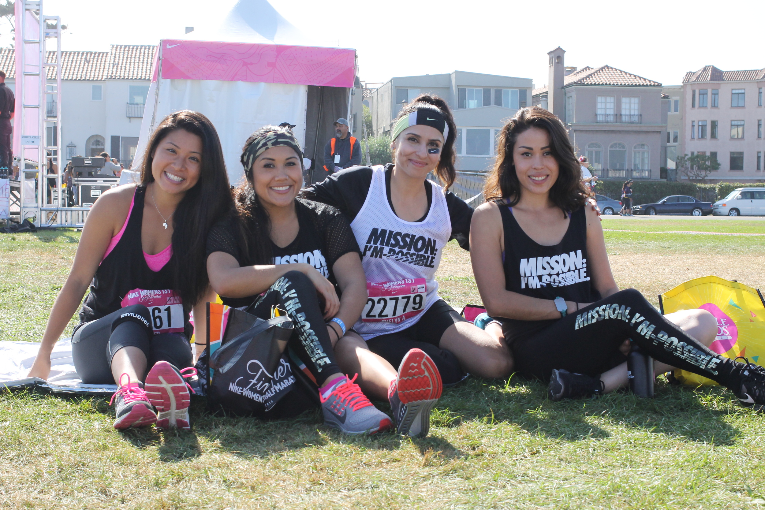 Nike Women's Half Marathon 2014 #werunSF #strongertogether