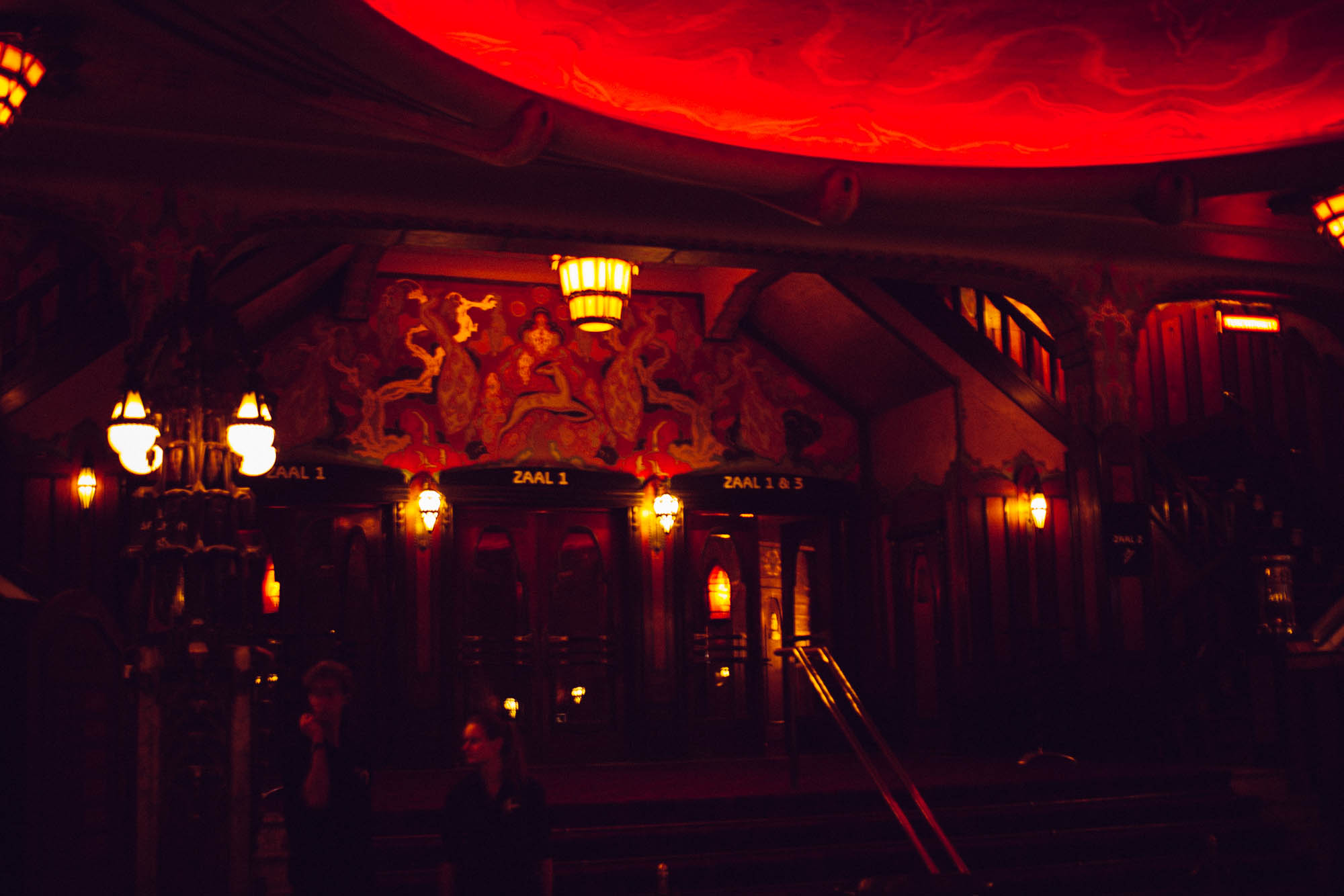 Inside the Tuschinski Theatre, Amsterdam