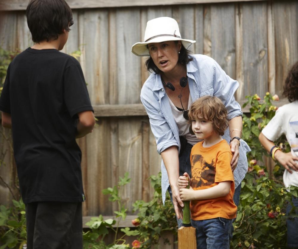 Jessica Hobbs directing The Slap