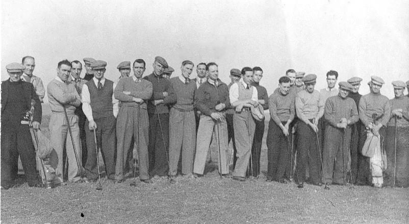 1950's Golfers