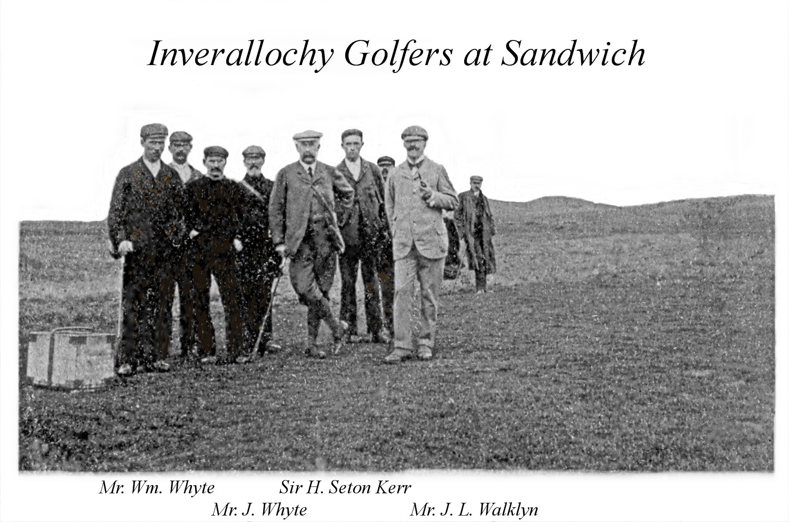 Golfers at Sandwich