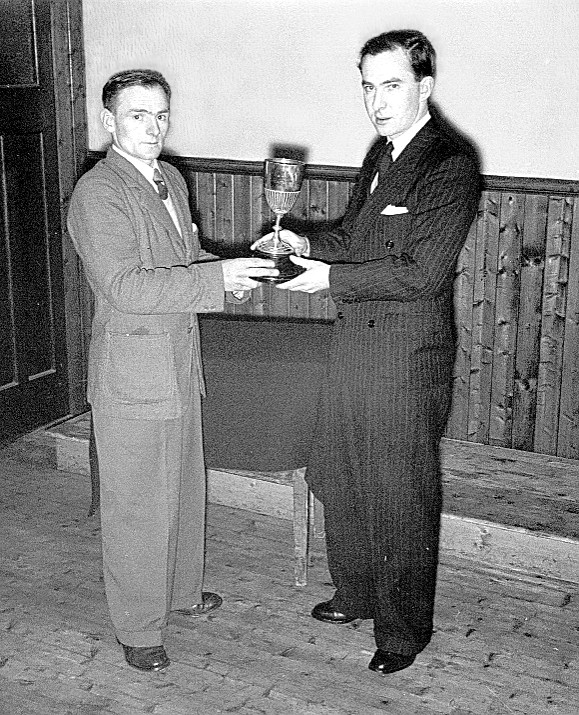 Medal Presentation in the 1950's