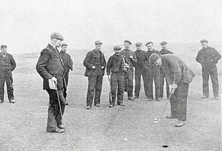 Inverallochy Golfers in 1905
