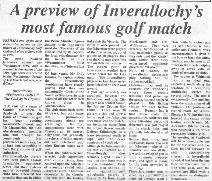 Fraserburgh Herald, 13th March 1998