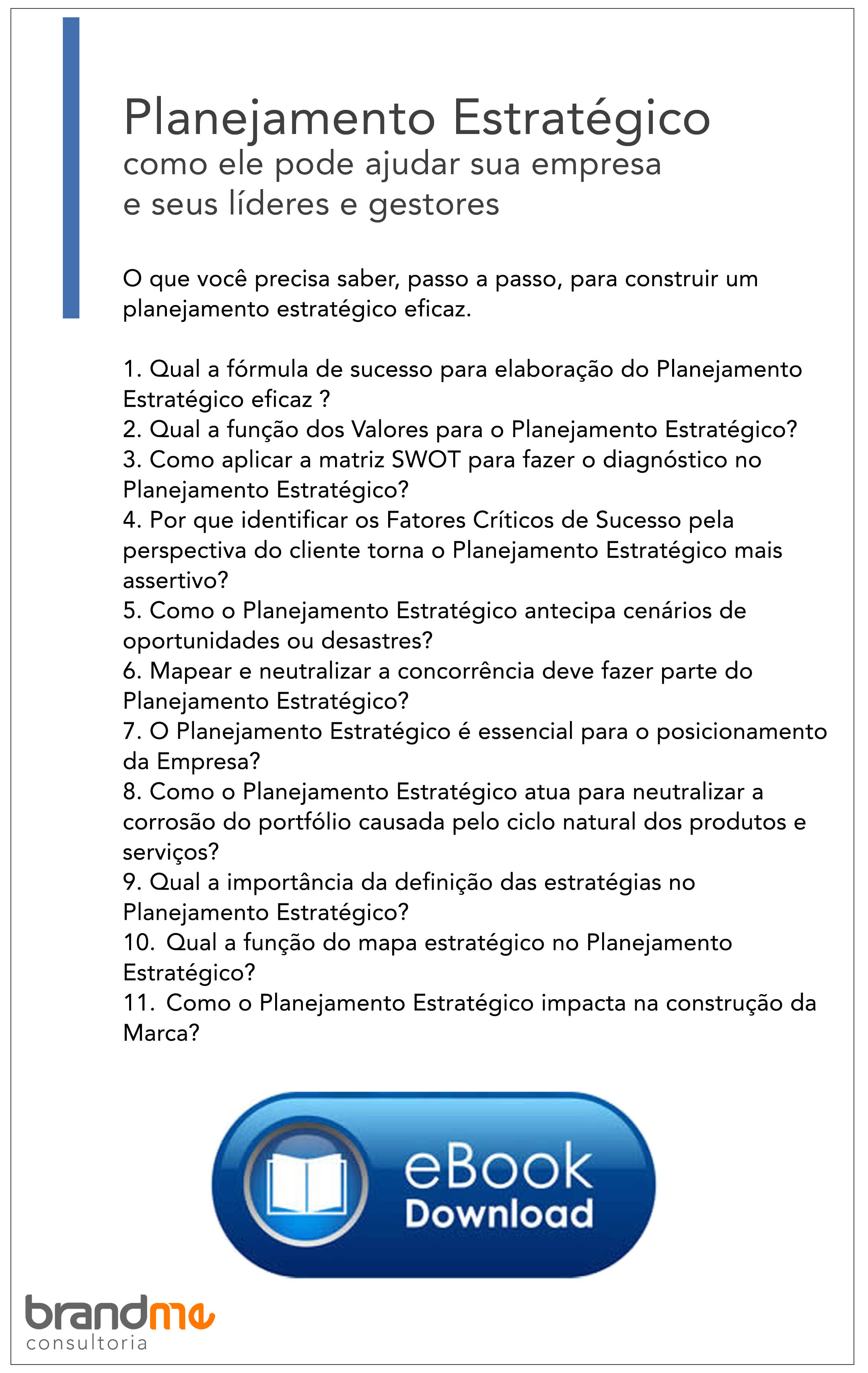 download ebook - Planejamento Estratégico
