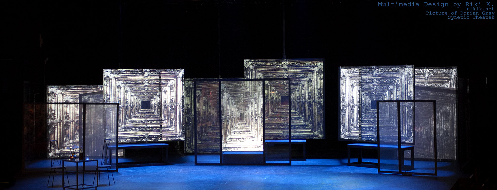 Projections by Riki K / Set by Daniel Pinha