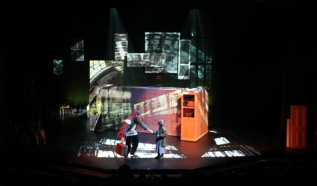 The Arts Collective's Production of Ragtime the Musical. Projection Design by Riki K.