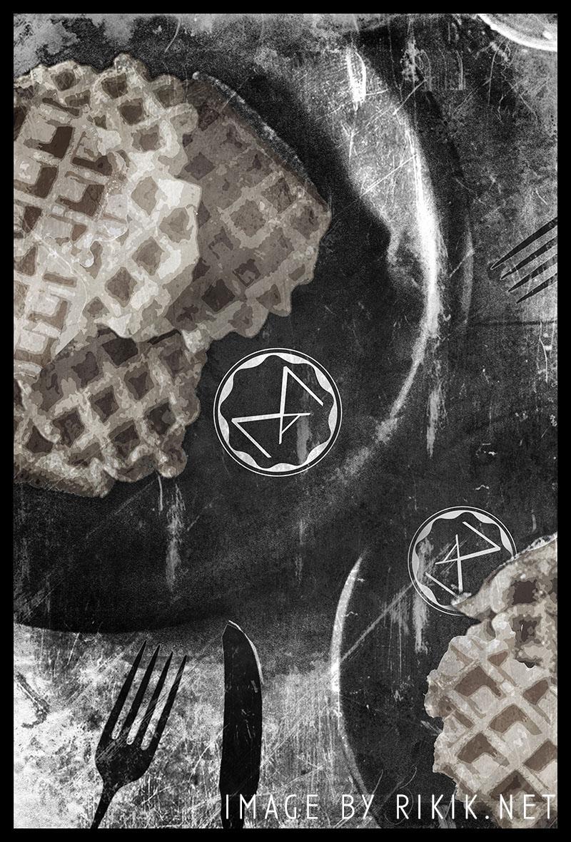 Decorative poster design - Waffles