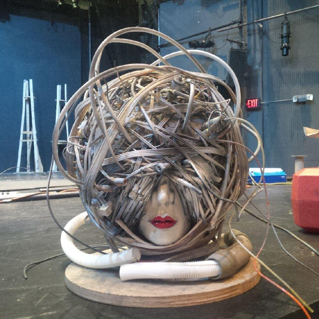 Totem's head piece by Riki K.
