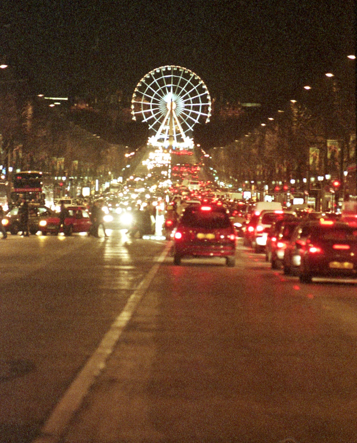 CHAMPS ELYSEES MILLENIUM WHEEL