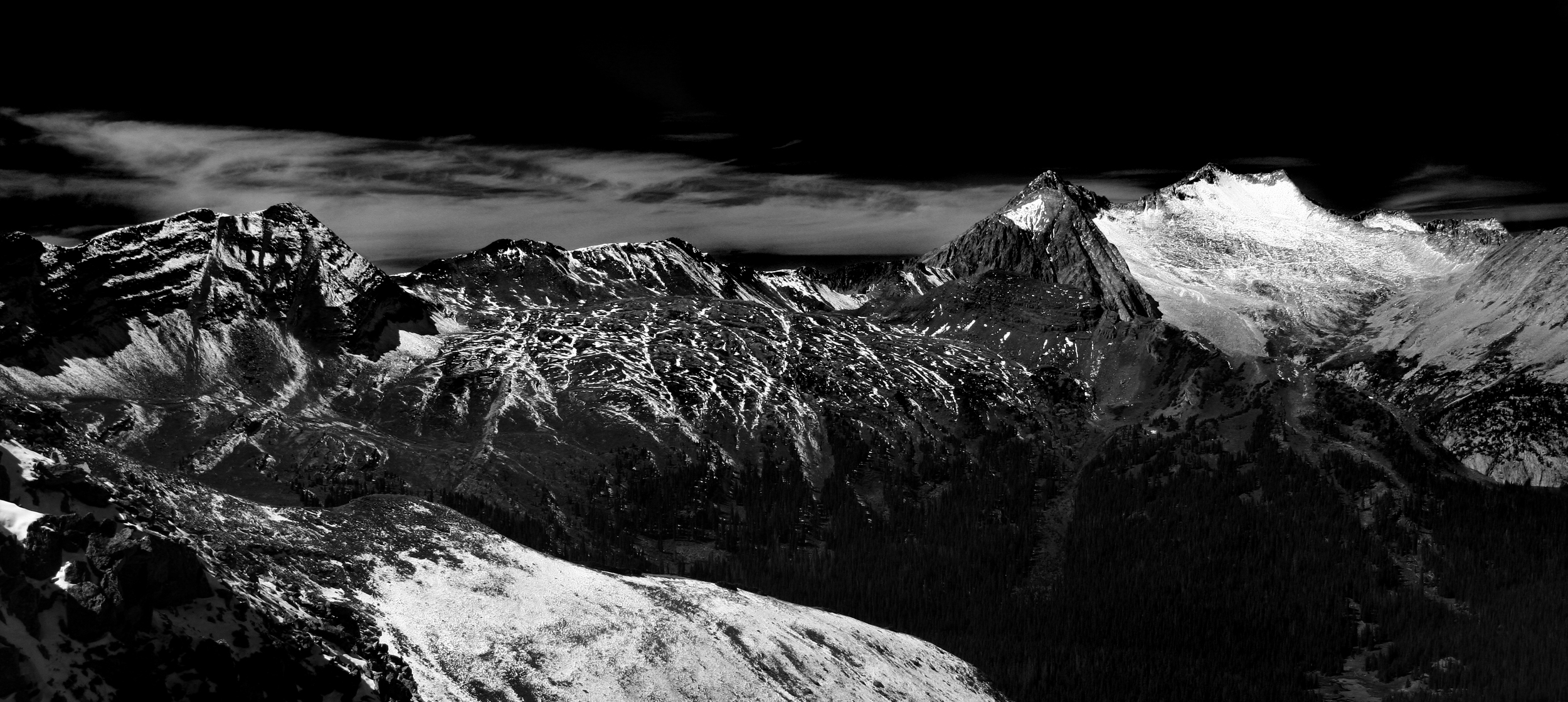 Snowmass Peak from Buckskin Pass