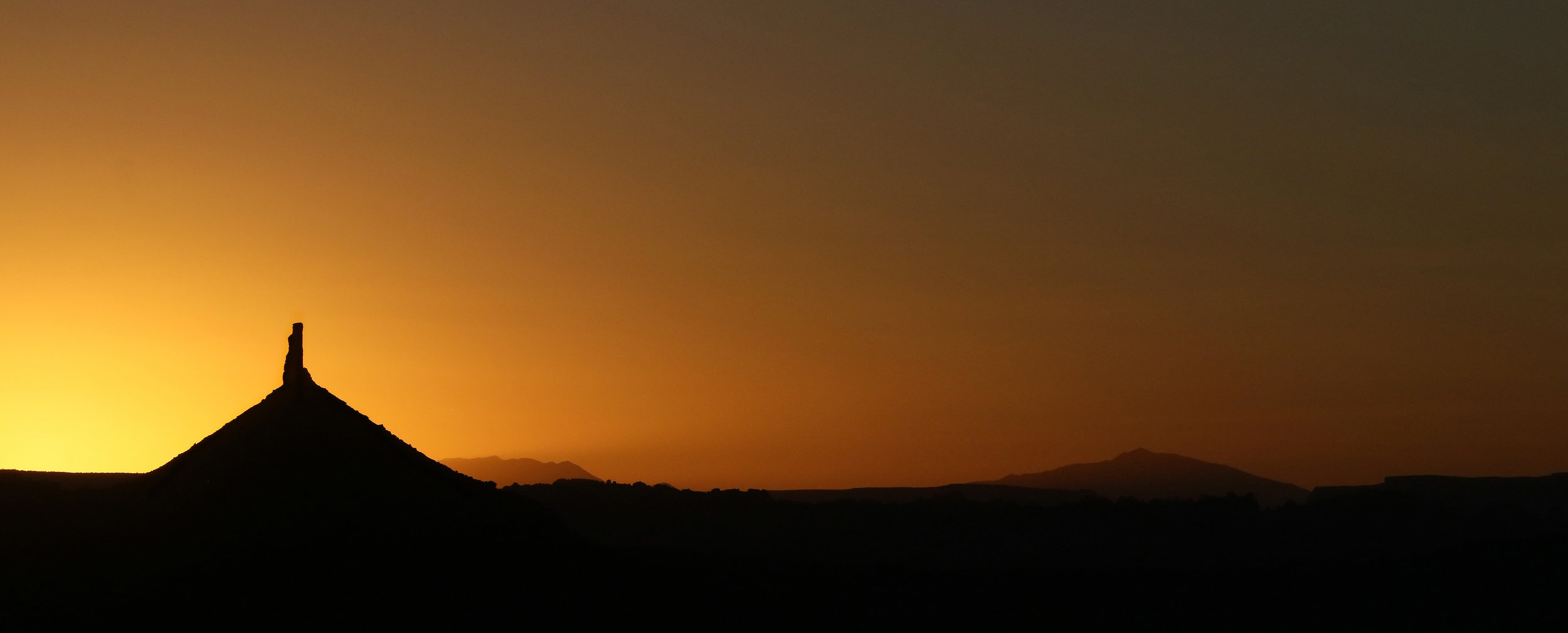 North Six Shooter, Sunset