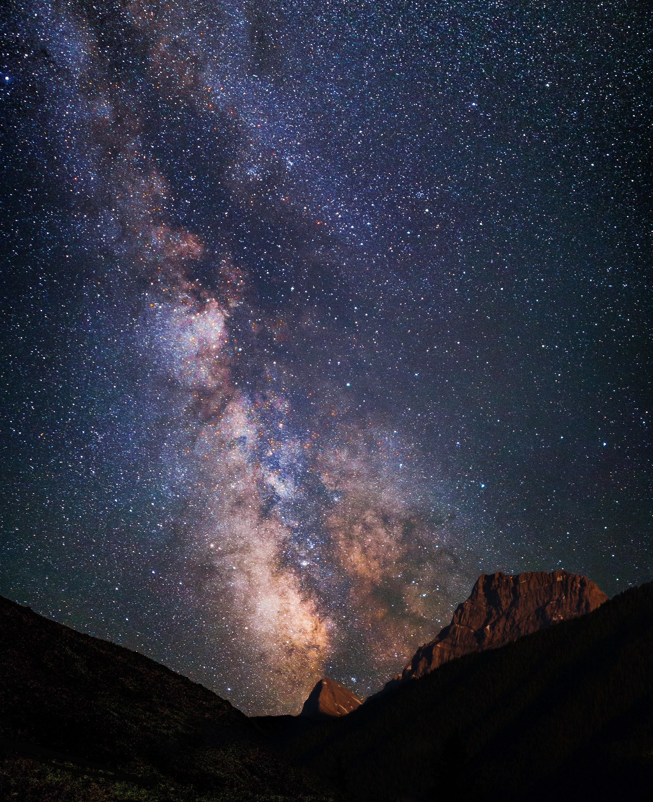 Milky Way, Canmore