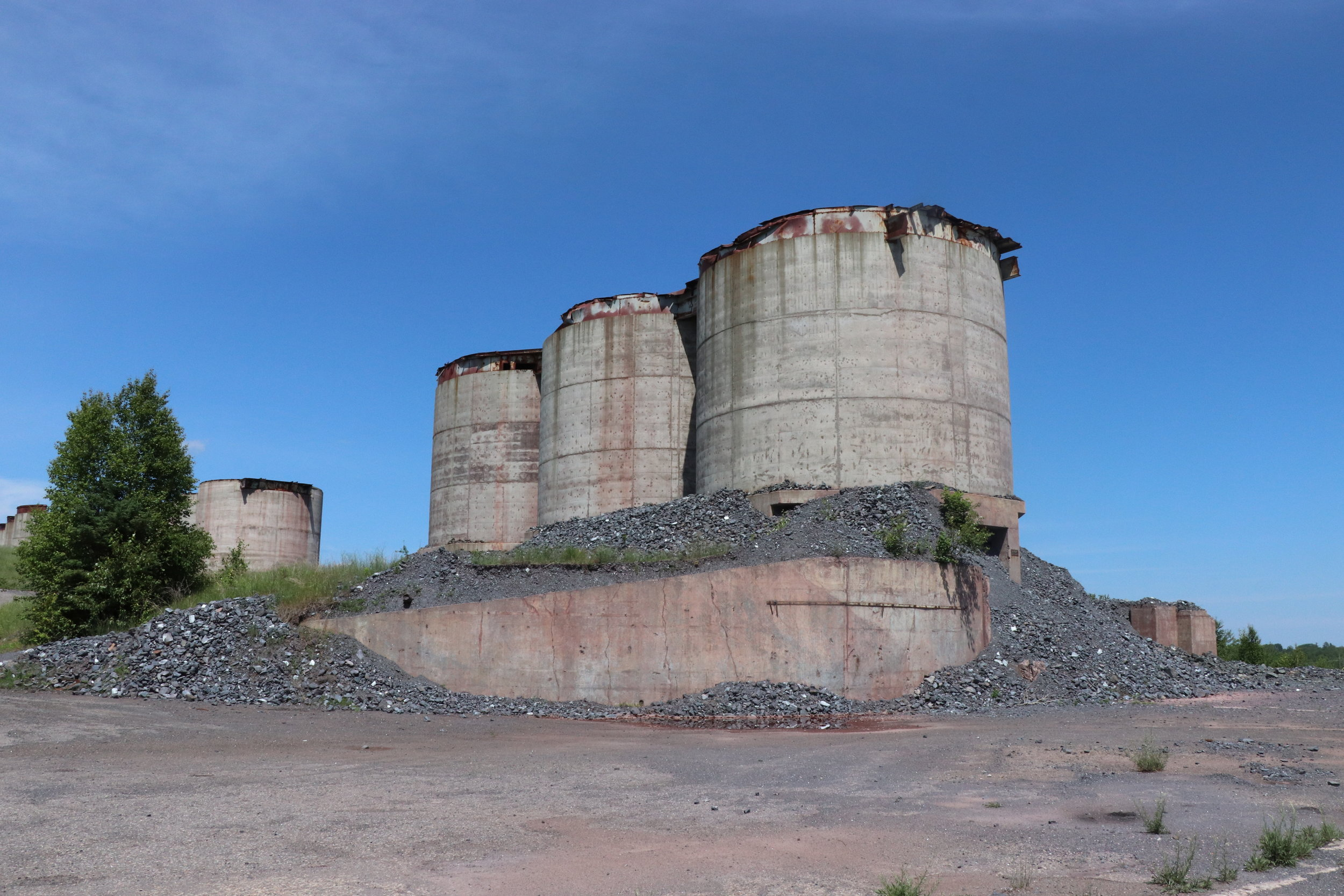 Ore Silos at Republic Mine