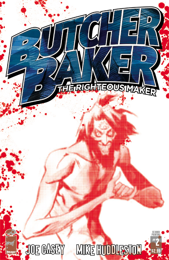 Book & Logo: Butcher Baker The Righteous Maker #2