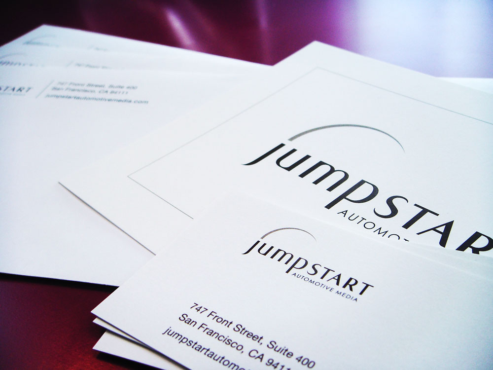 Logo & Identity: Jumpstart Automotive Group (cards)