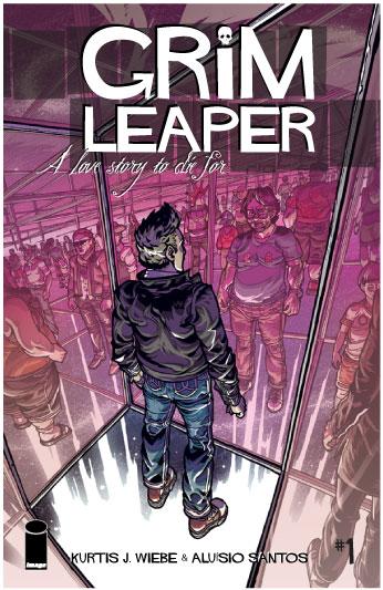 Book & Logo: Grim Leaper