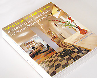 Book: Living Large in Small Spaces (cover)