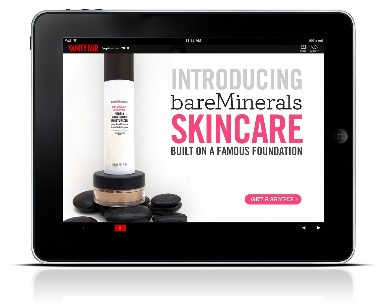 Ad campaign: Bare Minerals Skincare