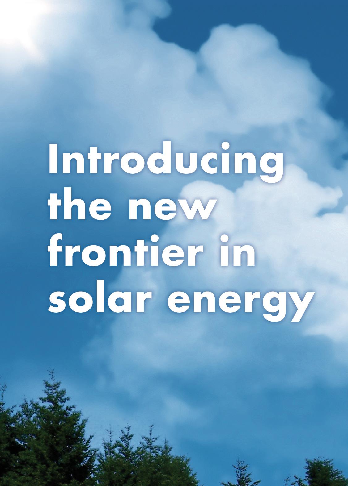 Ad campaign: Solar Energy