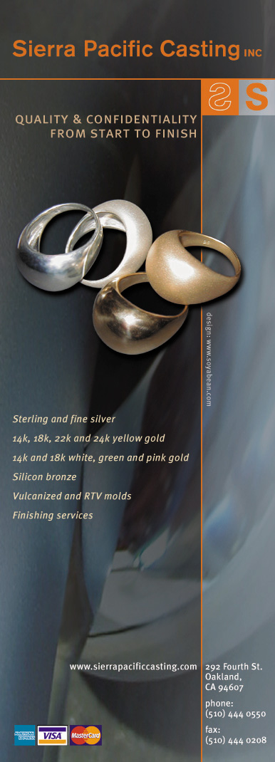 Magazine ad: Sierra Pacific Casting