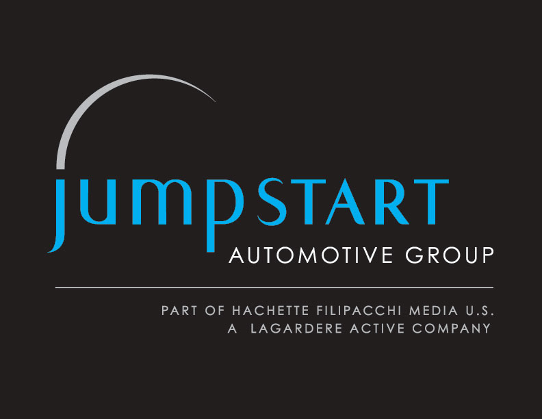 Logo & Identity: Jumpstart Automotive Group (on black)