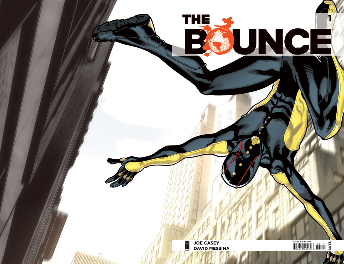 Book & Logo: The Bounce #1