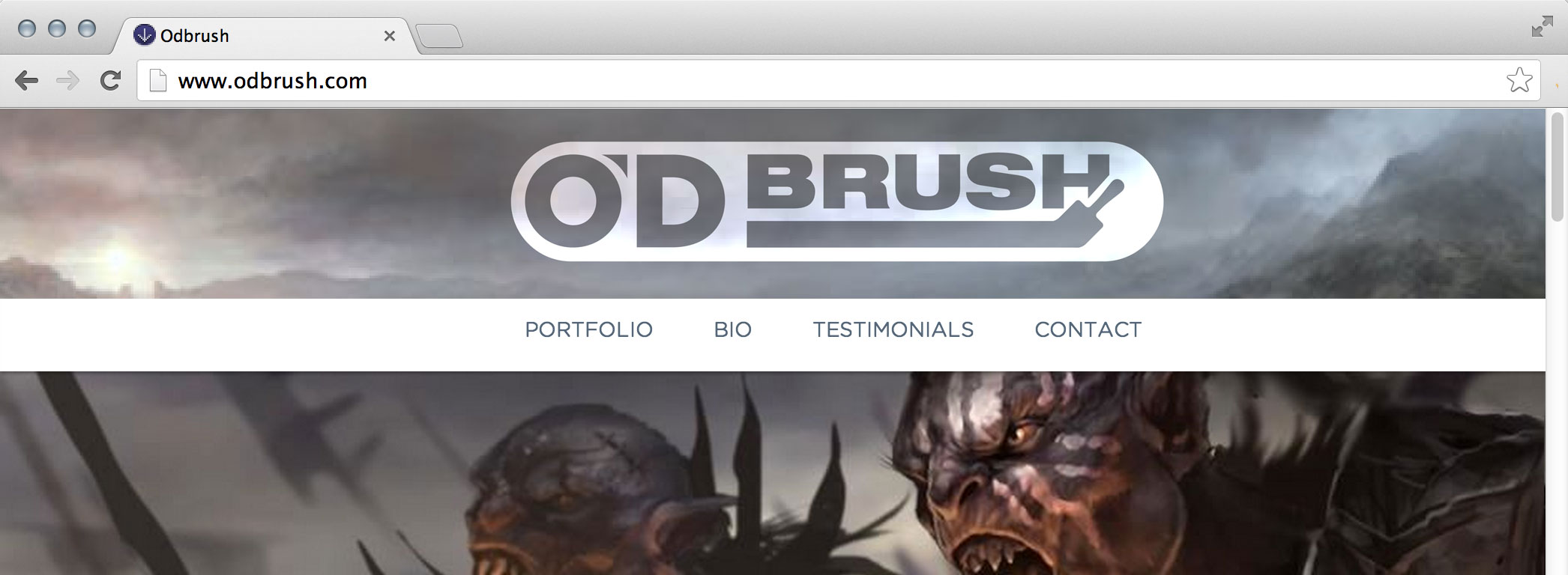 Logo: O'D Brush