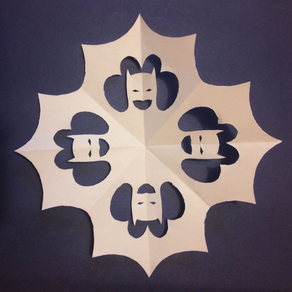 Batman Snowflake