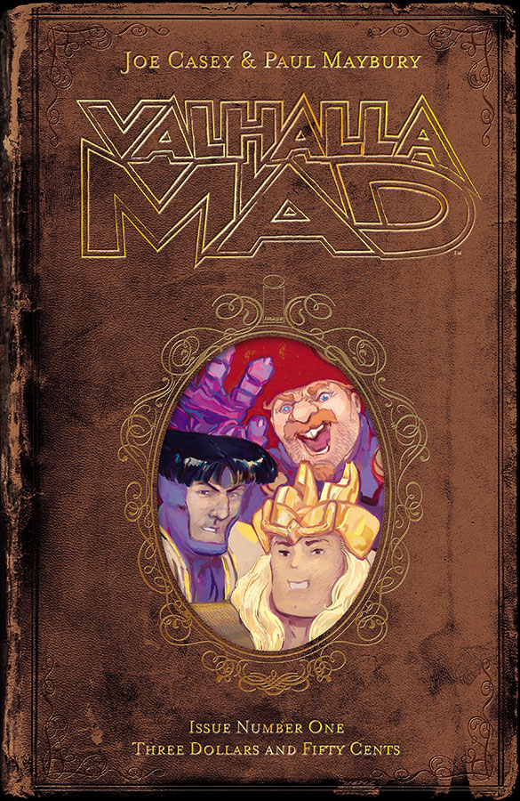Cover & Logo: Valhalla Mad #1