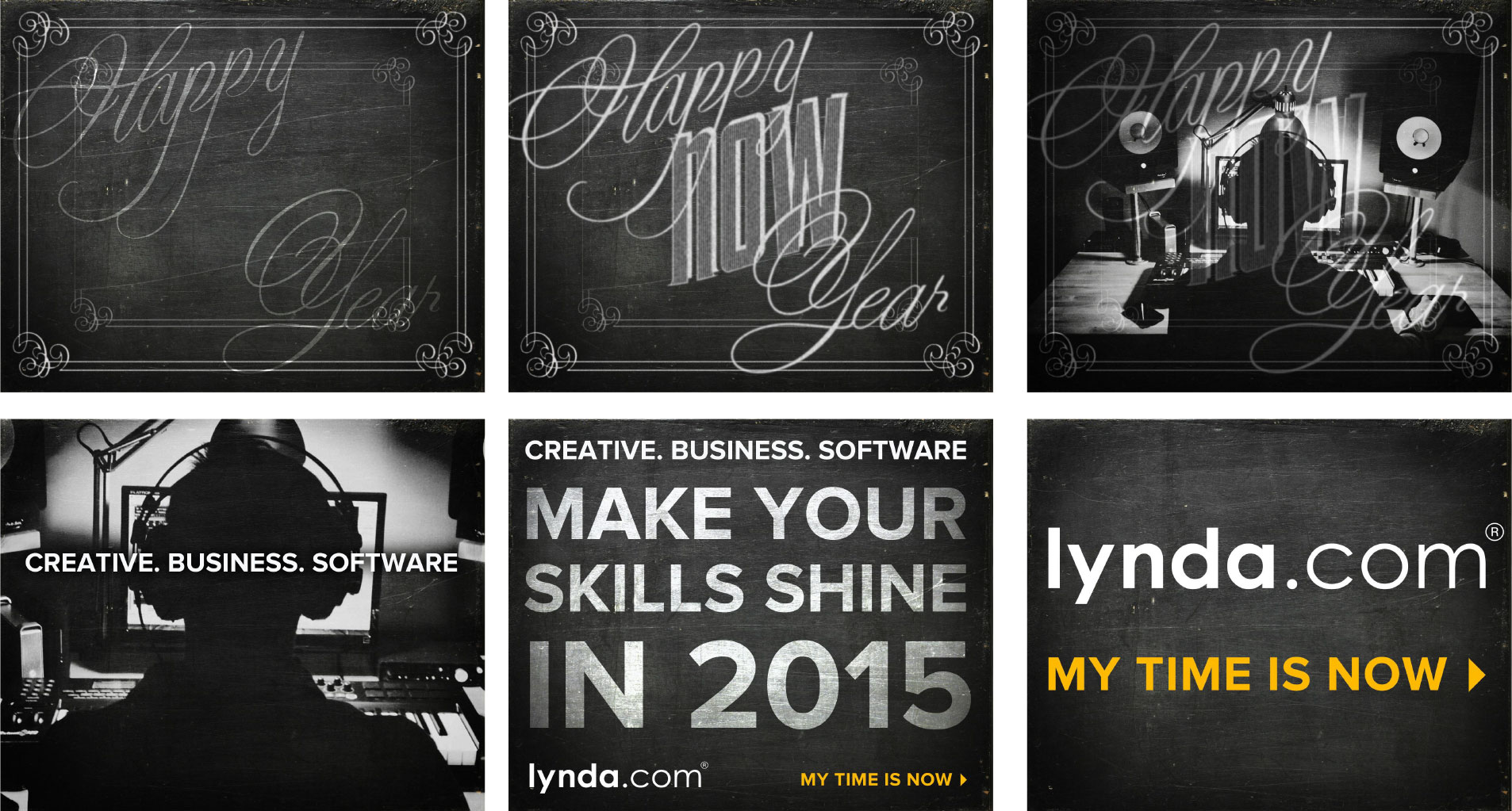 "Ad Banners: Lynda - ""Happy 'Now' Year"