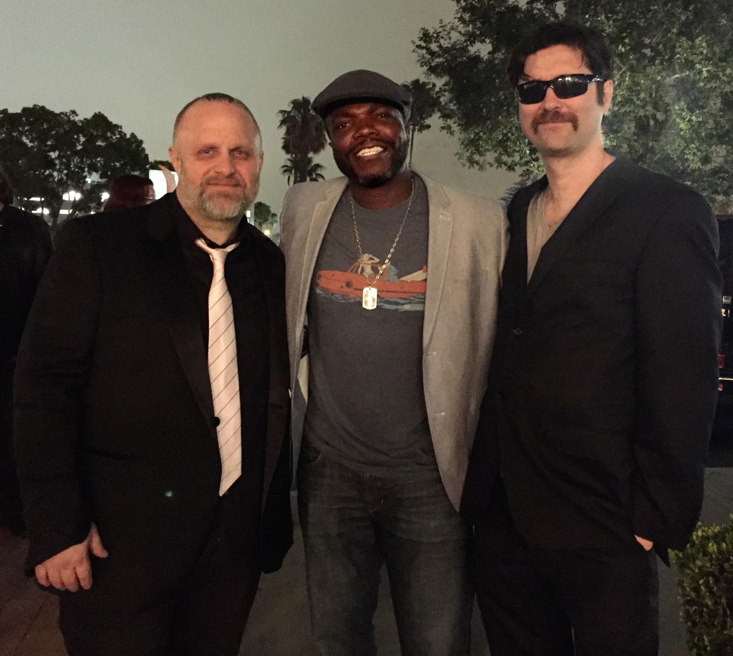 "Director; Shawn ""Clown"" Crahan, actor; Reno Wilson, and writer; Joe Casey"