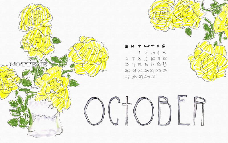 October is here!