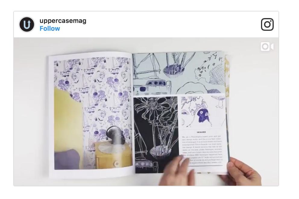 Uppercase Magazine - Wallpaper Profile - January 2017