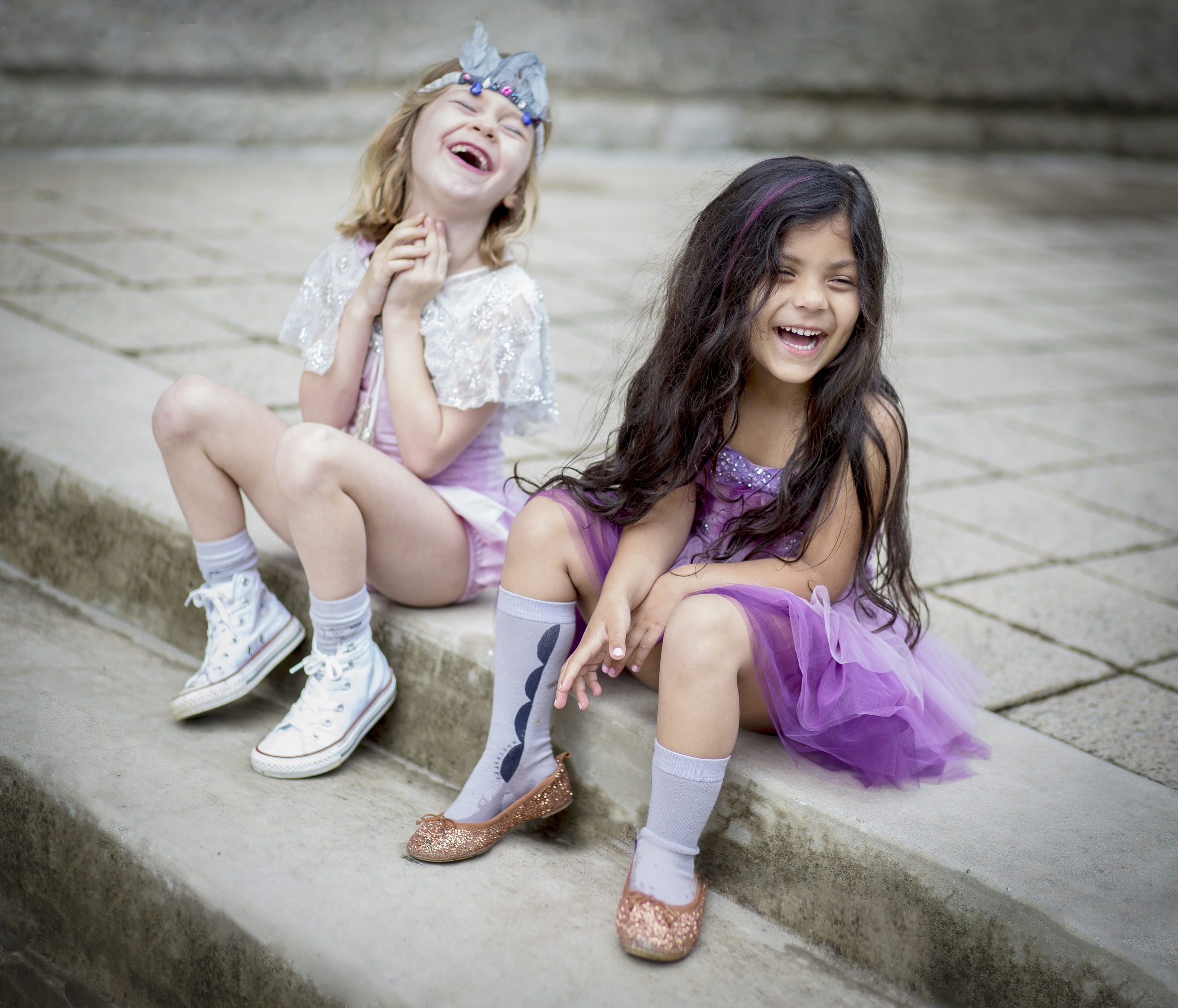 I love to see kids laugh