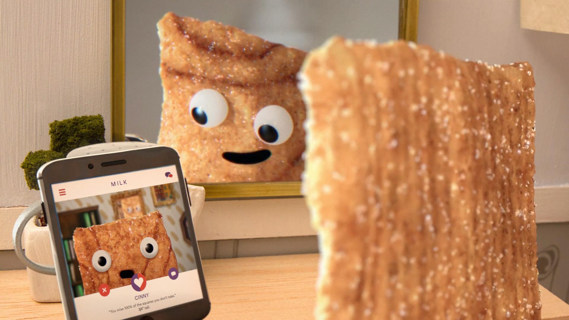 Cinnamon Toast Crunch: Swiping
