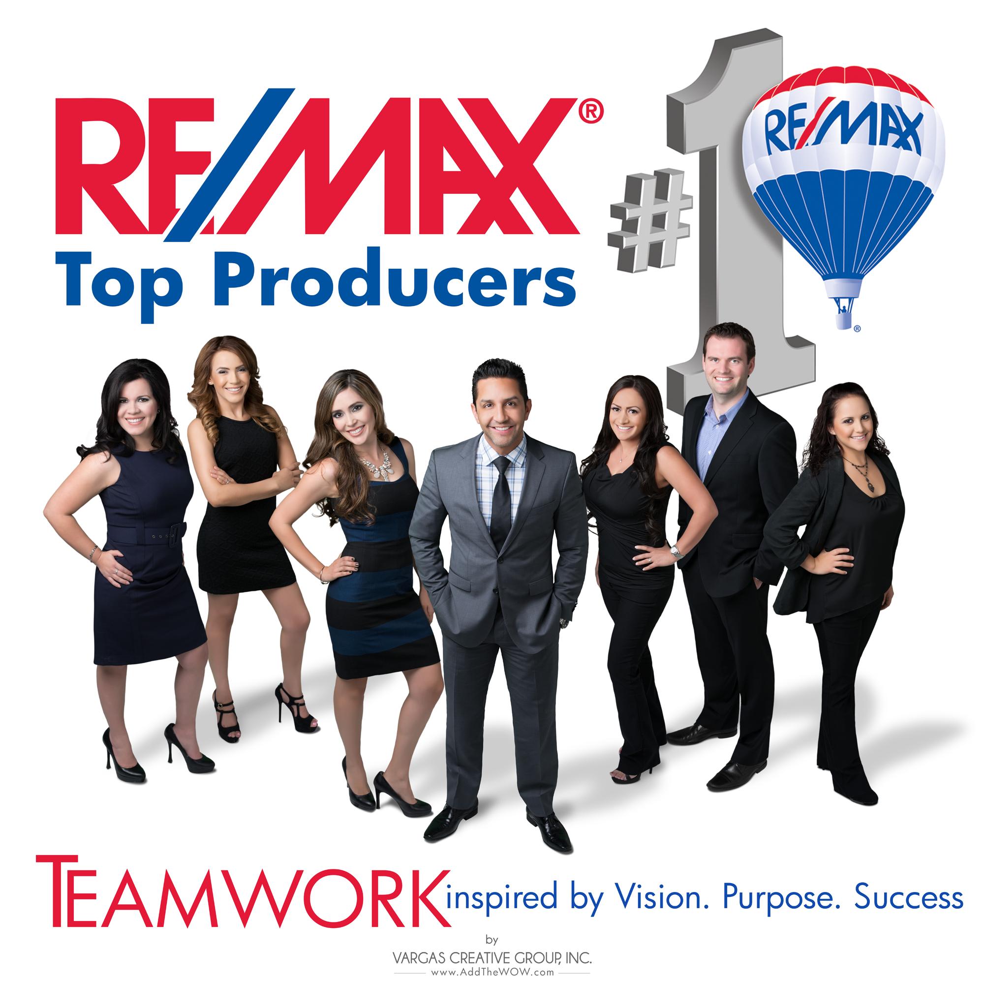 Remax Top Producers Team Photograph Portrait