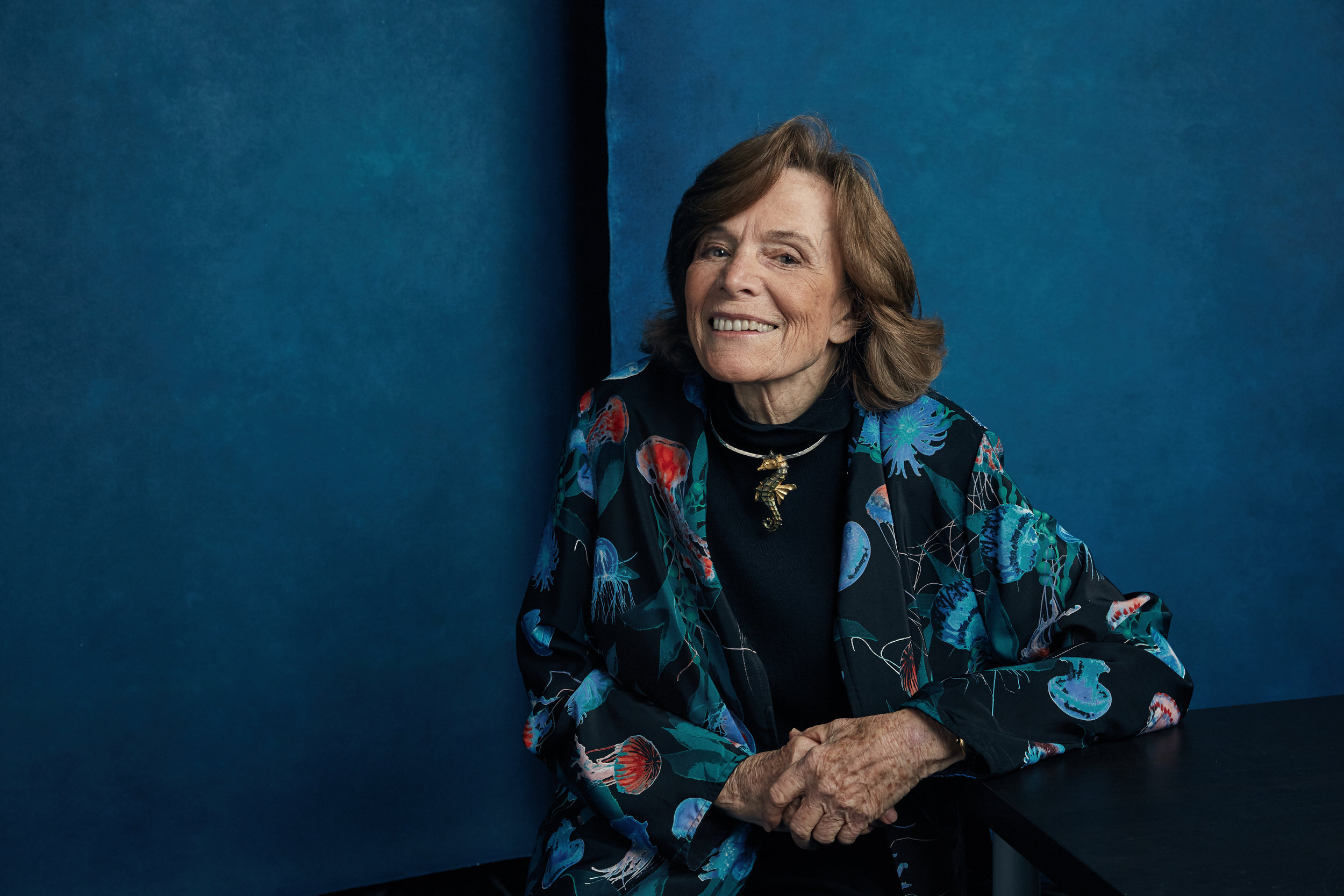 Marine biologist and  Time Magazines  first  Hero of the Planet  Dr. Sylvia Earle.