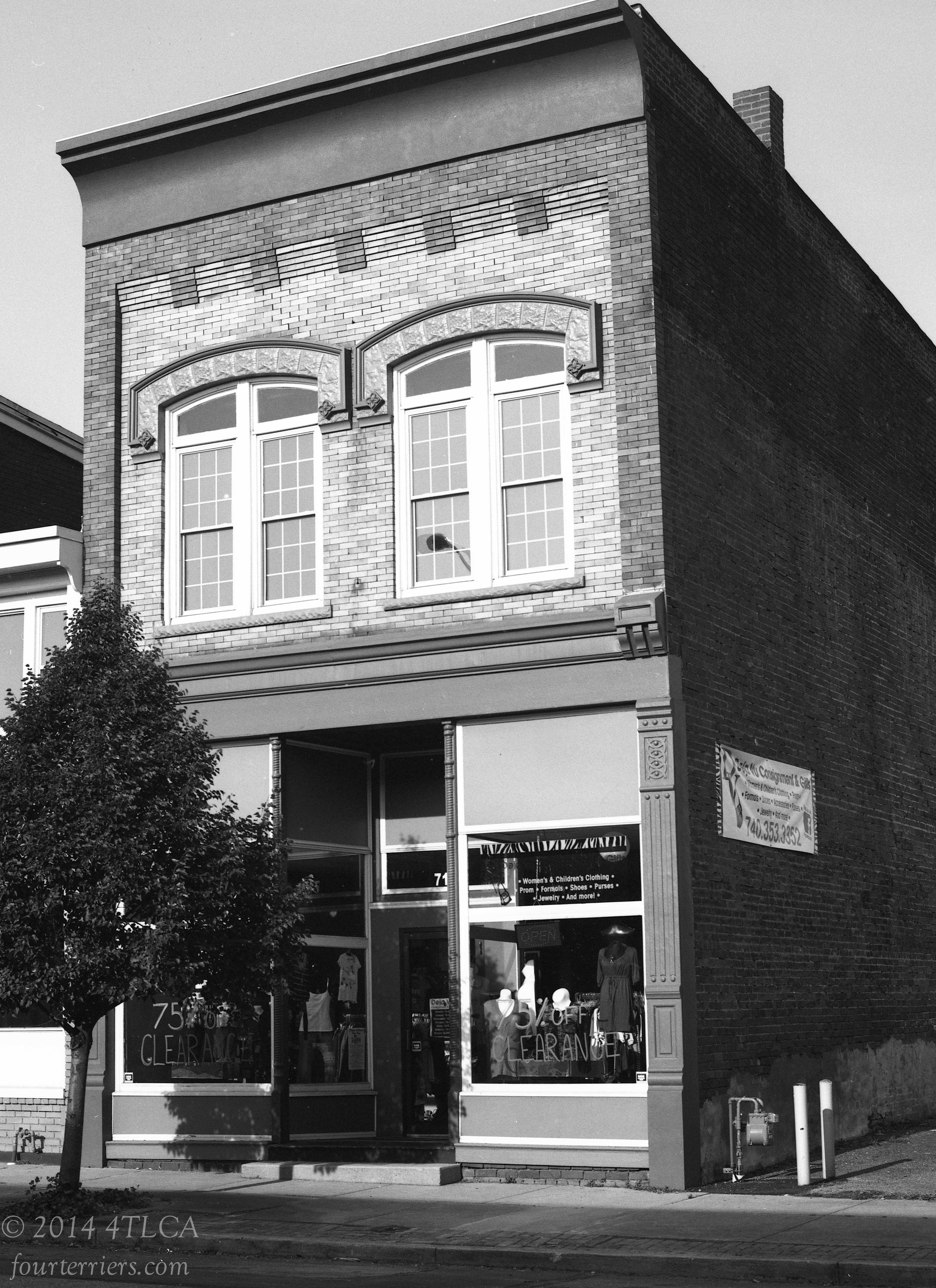 Old Building, Portsmouth, Ohio