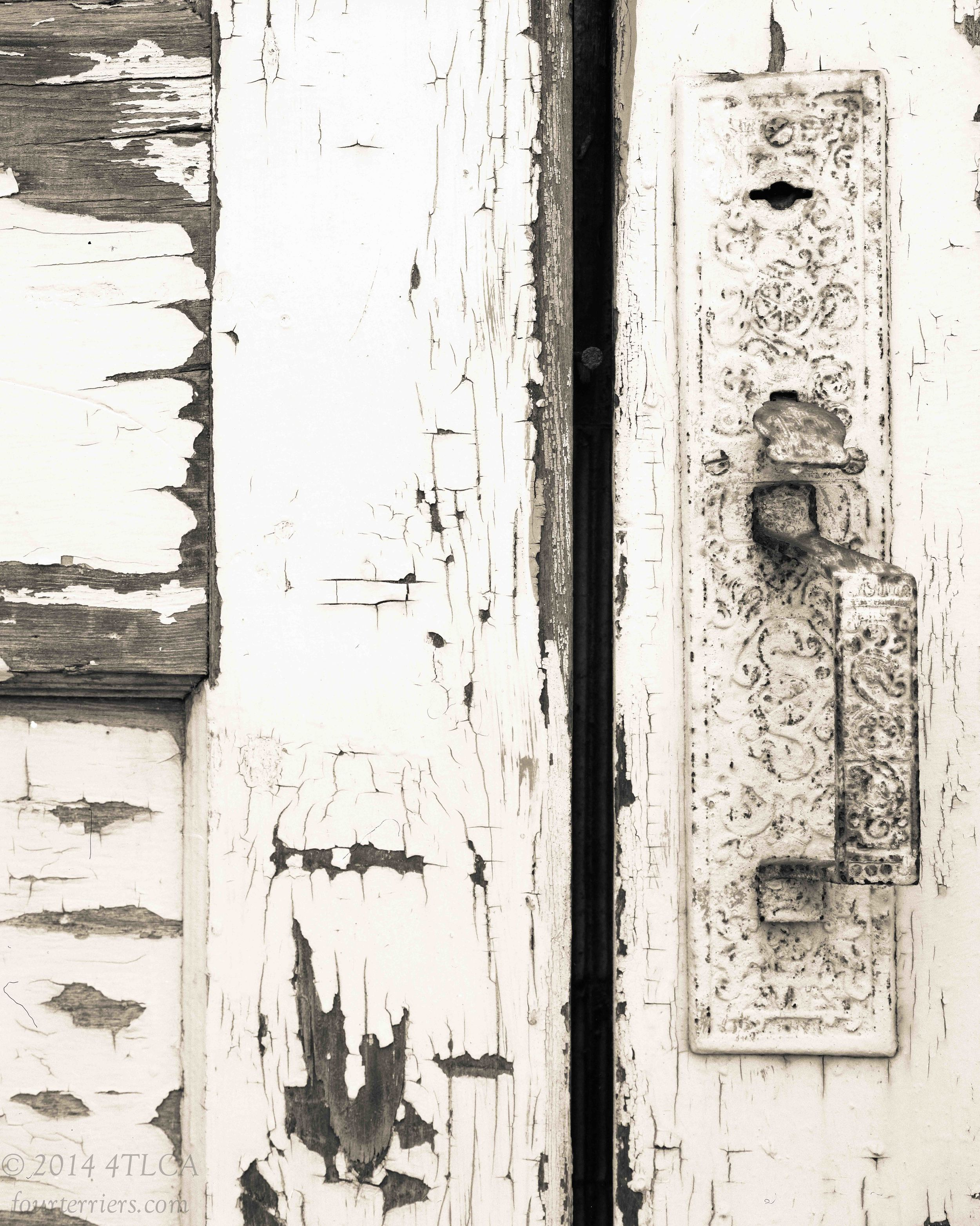 Old Building Lock