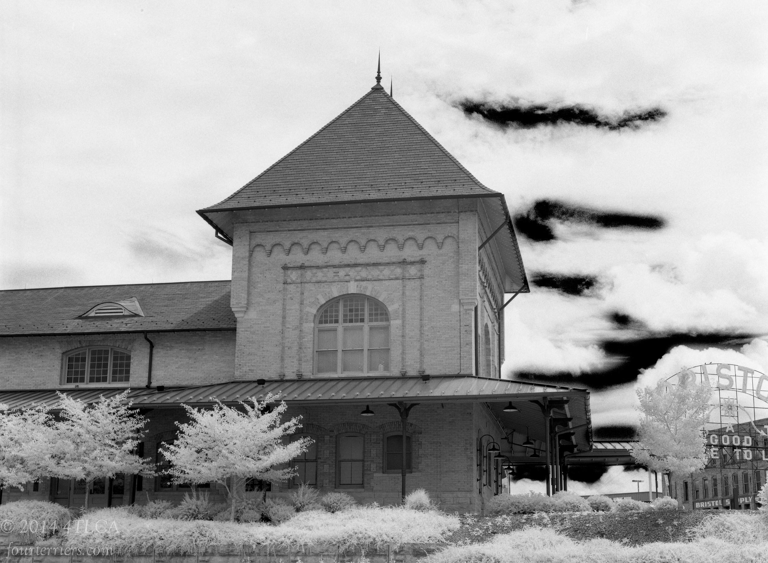 Train Station Across MLK