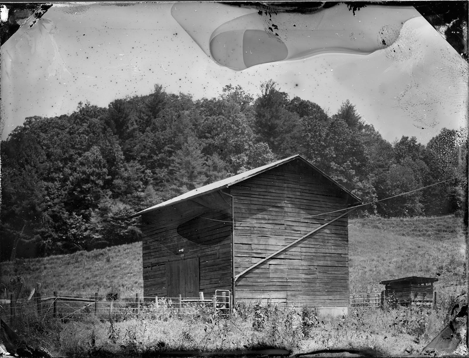 Old Barn - Marshall, North Carolina, USA - June 2018